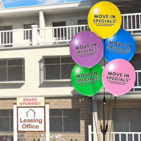 Move In Specials Balloons