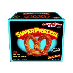 King Size Soft Pretzels