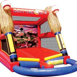 Batter Up Baseball Inflatable, Batting Cage