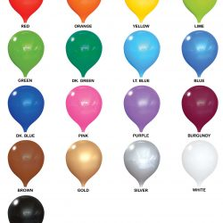 "PermaShine Balloon Color (12"")"