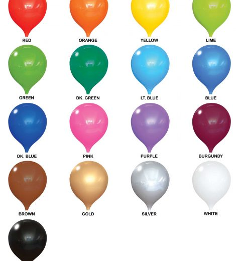 "PermaShine Balloon Color (12"")"