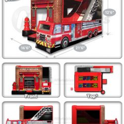 Fire Station Combo Inflatable