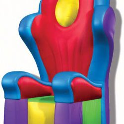 Wacky Inflatable Throne Rental