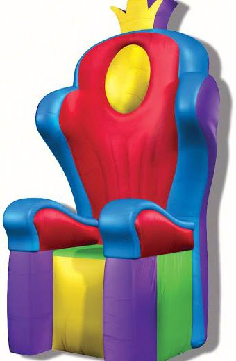 Inflatable Throne Rental