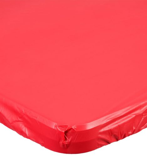 29? X 72? – RED DISPOSABLE FITTED PLASTIC TABLE COVER