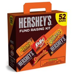 Hershey Fund Raising Kit 52 count