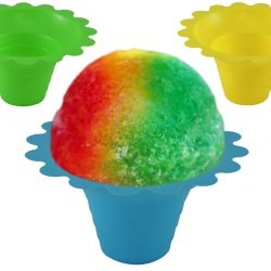 Flower Sno Cone Cup - Snow Cone Flower Cup - Tulip