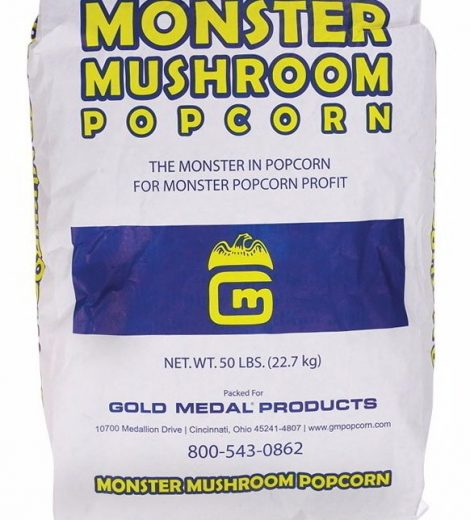 Monster Mushroom Popcorn #2031 Gold Medal