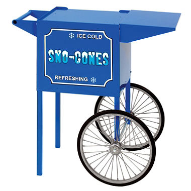 Sno Cone Cart Blue