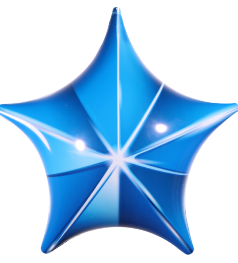 permashape-blue-3d-star-kit