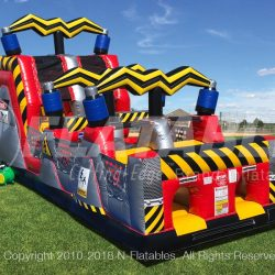 inflatable obstacle course (High Voltage)