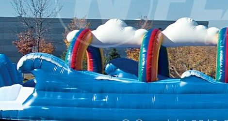 Surf and Slide Slip and Slide Inflatable