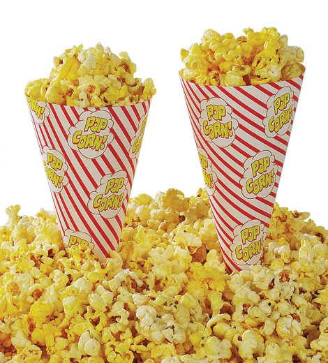 Cone a Corn Popcorn Cup (Gold Medal) (#2067M)