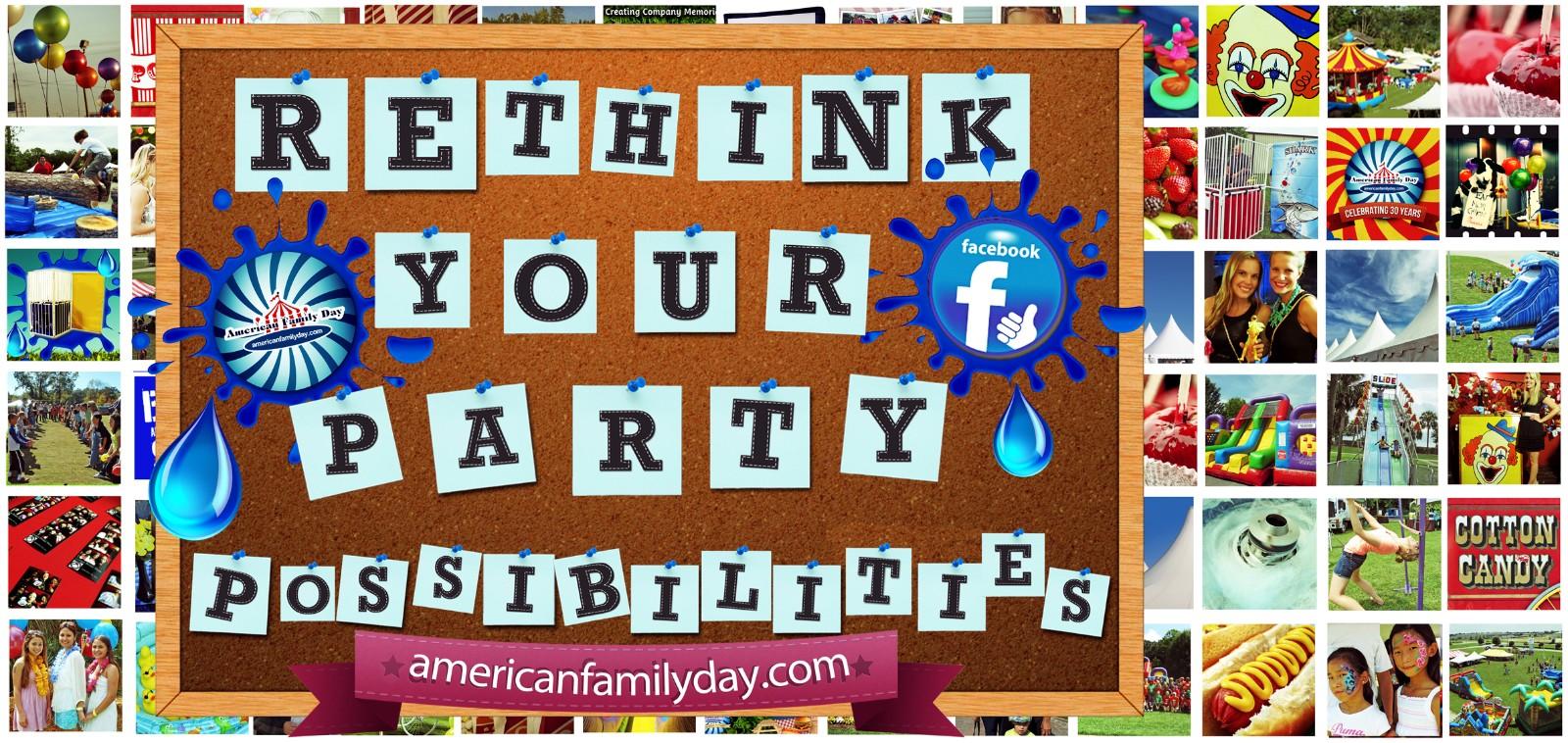 AmericanFamilyDay.com Party Supplies