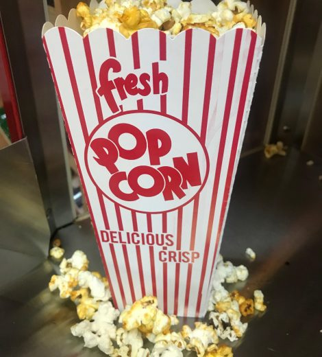 Popcorn Scoop Box