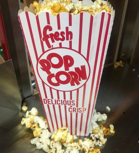 Popcorn Scoop Box