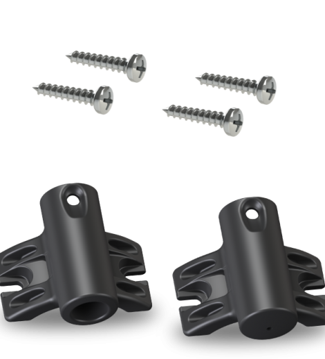 Upper/Lower screw-pole-bracket-kit