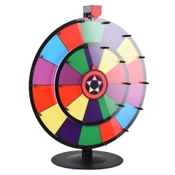 prize wheel, color wheel