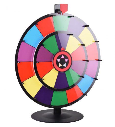 prize wheel, color wheel