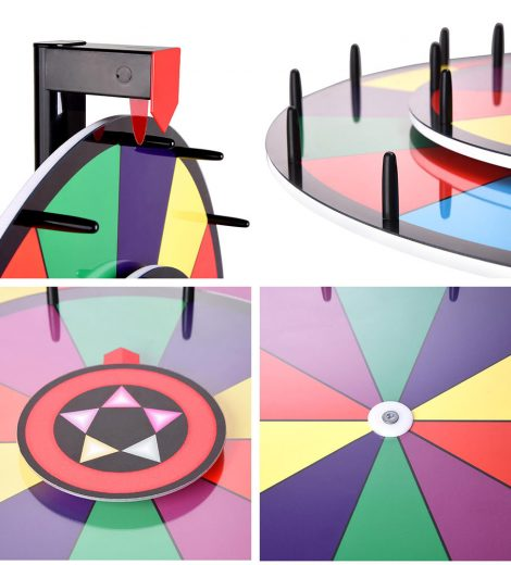 "Prize Wheel (24"") layout"