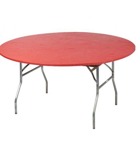 5' Round Red Kwik Covers