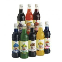 Snow Cone Syrup Flavors 750 ml