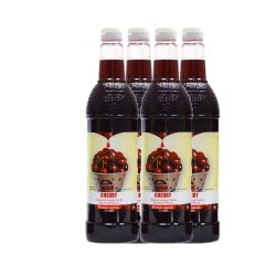 Cherry Sno Cone Syrup 750ml 4 pk