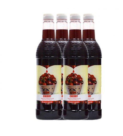 Cherry Sno Cone Syrup 750ml 4 pk